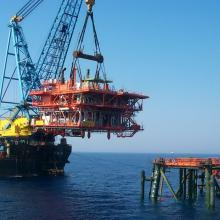 Offshore Barbara - Installation